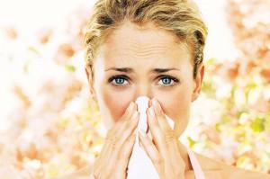 Аллергия как причина покраснения