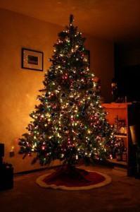 Новогодняя ёлка дома