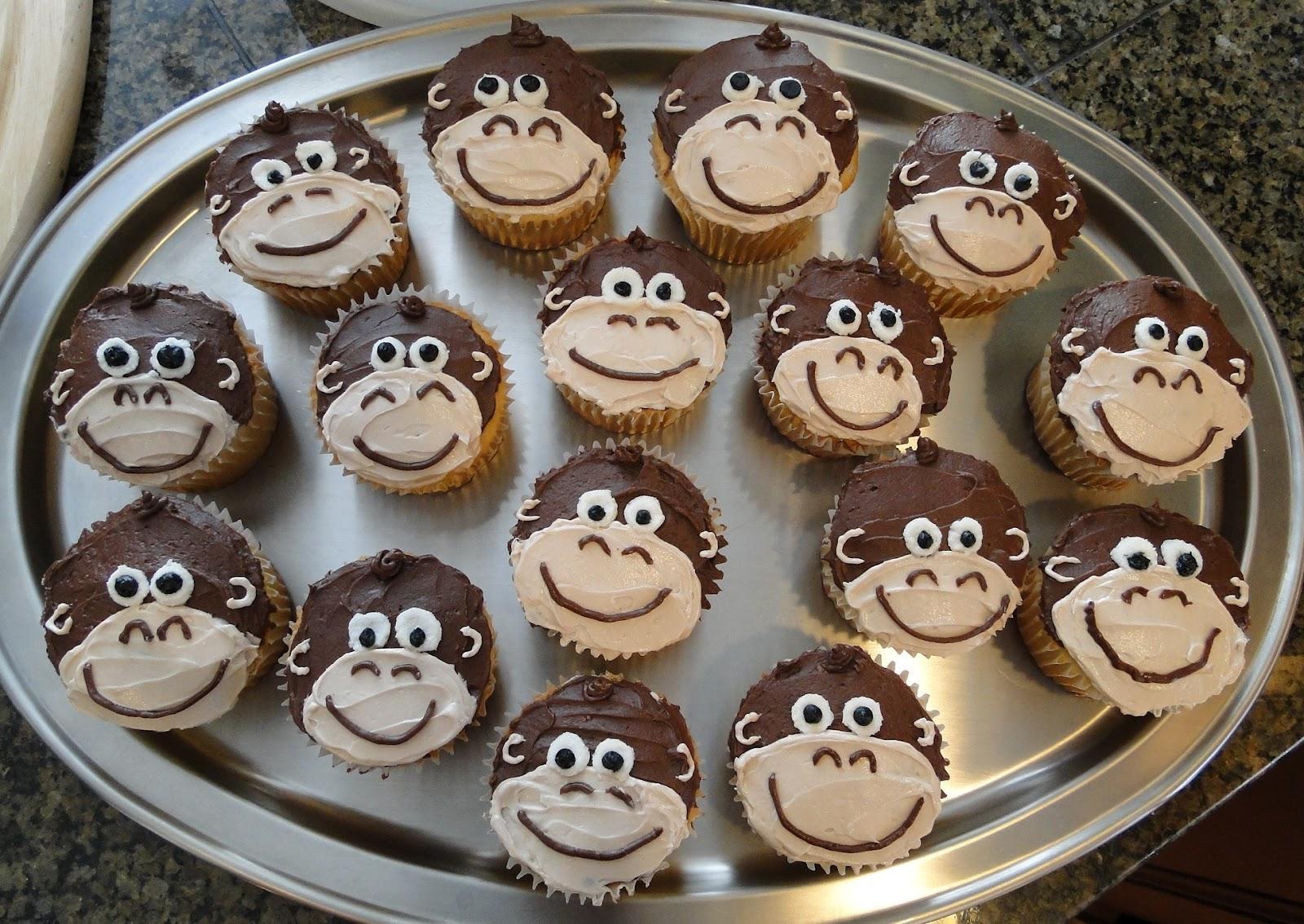 Десерты обезьянки